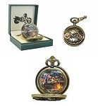 Vintage Style Motorcycle Pocket Watch
