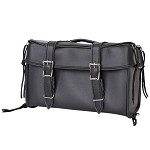 Black PVC Motorcycle Trunk Bag