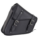 Black PVC Solo Swing Arm Bag Left Side