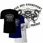 The 2nd Amendment is My Gun Permit T-Shirt