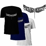 Trust God T-Shirt with Angel Wings