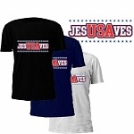 JesUSAves Jesus USA Saves T-Shirt