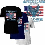 American by Birth Soldier by Choice T-Shirt