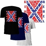 Rebel Confederate Flag T-Shirt