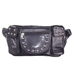 Studded Universal Magnetic Motorcycle Tank Bag