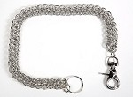 20 Inch Biker Keychain, Wallet Chain, Necklace